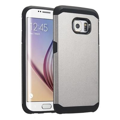 Ochranný kryt Hybrid Slim Armor na Samsung Galaxy S6 Edge/G925 - Šedý