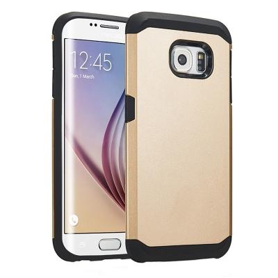 Ochranný kryt Hybrid Slim Armor na Samsung Galaxy S6 Edge/G925 - Zlatý