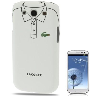 Ochranný plastový kryt na Samsug Galaxy S3 - Lacoste shirt