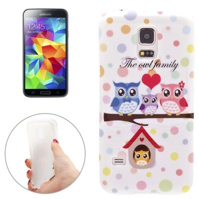 Ochranný TPU kryt na Samsung Galaxy S5 mini - Sovičky