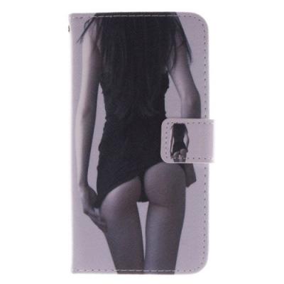 Kožené púzdro pre LG G2 - Sexy Girl