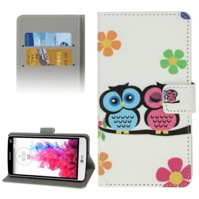 Kožené púzdro pre LG G3 mini - Two Owls