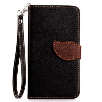 Elegantné kožené púzdro pre LG G3 mini - Black