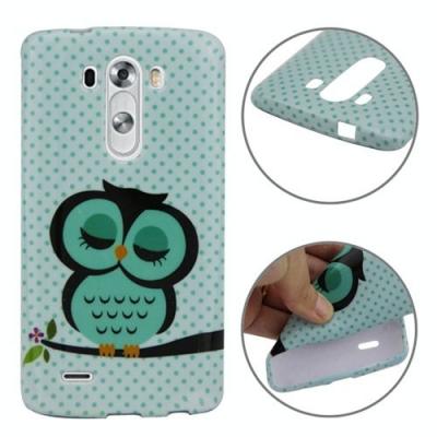 Ochranný kryt pre LG G3 - Owl