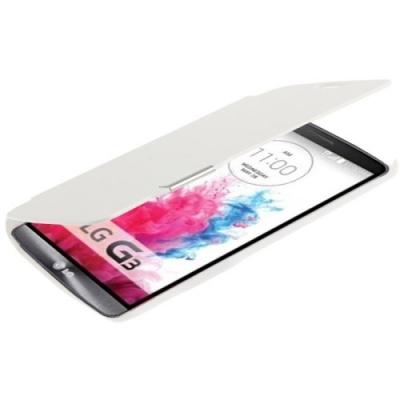 Flip ochranné púzdro pre LG G3 - White