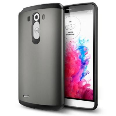 Odolný kryt pre LG G3 - Armor Grey