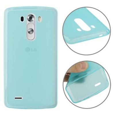 Protišmykový ochranný kryt pre LG G3 - Baby Blue