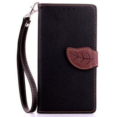 Elegantné kožené púzdro pre LG G4 - Black