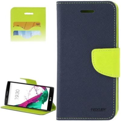 Kožené diárové púzdro pre LG G4 - Green