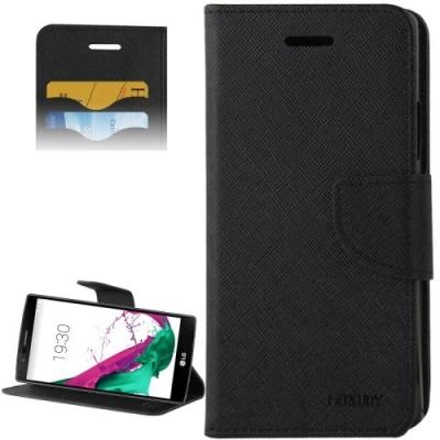 Kožené diárové púzdro pre LG G4 - Black