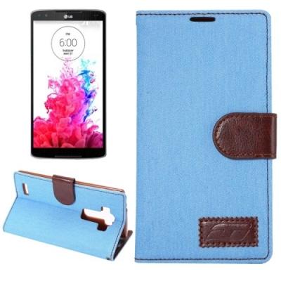 Kožené diárové púzdro pre LG G4 - Denim Blue