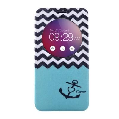 Kožené púzdro pre LG G4 mini - Waves