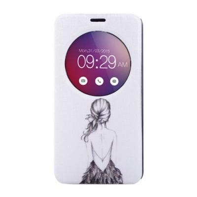 Kožené púzdro pre LG G4 mini - Girl