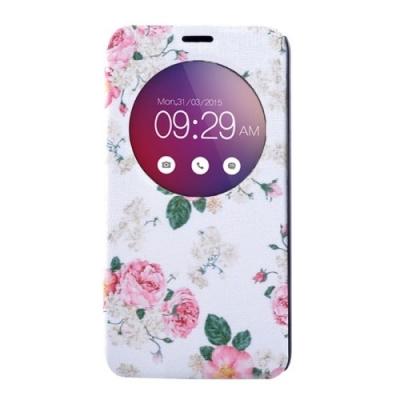 Kožené púzdro pre LG G4 mini - Roses