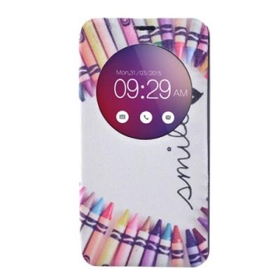 Kožené púzdro pre LG G4 mini - Smile