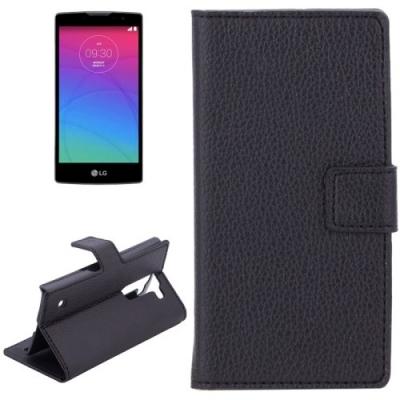 Elegantné kožené púzdro pre LG Spirit 4G LTE - Black