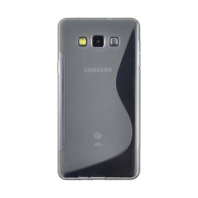 Ochranný kryt pre Samsung Galaxy A3 - S-Line- Grey