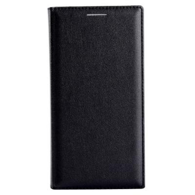 Kožené diarové púzdro pre Samsung Galaxy A3 - Black