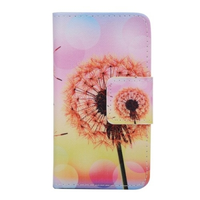 Kožené púzdro pre Samsung Galaxy A3 - Yellow Dandelion