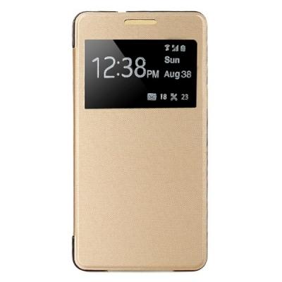 Dizajnové púzdro pre Samsung Galaxy A3 - Gold