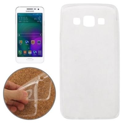 Extra tenký ochranný kryt pre Samsung Galaxy A3 - Transparent