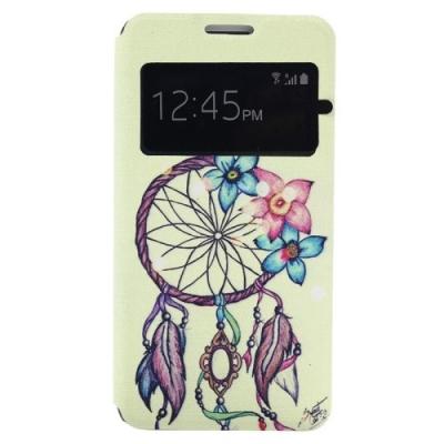 Dizajnové kožené púzdro pre Samsung Galaxy A3 - Dreamcatcher