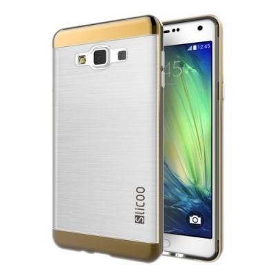 Slicoo ochranný kryt s rámom pre Samsung Galaxy A5 - Coffee