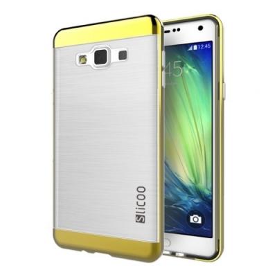Slicoo ochranný kryt s rámom pre Samsung Galaxy A5 - Gold