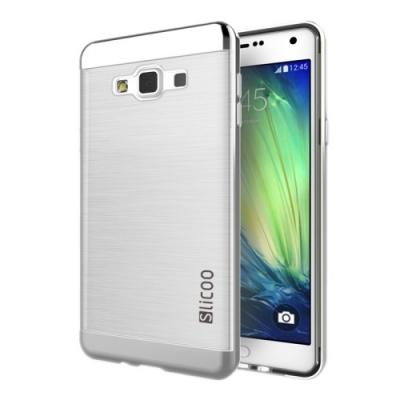 Slicoo ochranný kryt s rámom pre Samsung Galaxy A5 - Silver