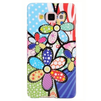 Ochranný kryt pre Samsung Galaxy A5 - Colorful Petals