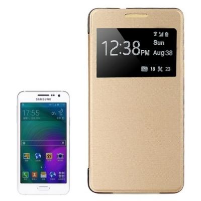 Diarové púzdro pre Samsung Galaxy A5 - Gold