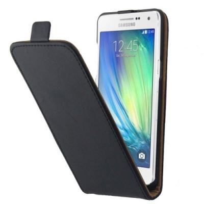 Kožené púzdro pre Samsung Galaxy A5 - Black