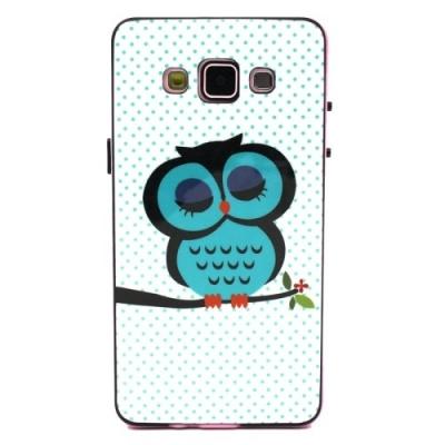 Ochranný kryt s rámom pre Samsung Galaxy A5 - Owl