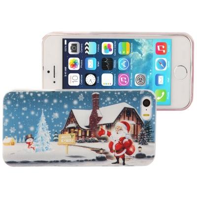 Štýlový ochranný kryt pre iPhone 5 & 5S - Santa Claus