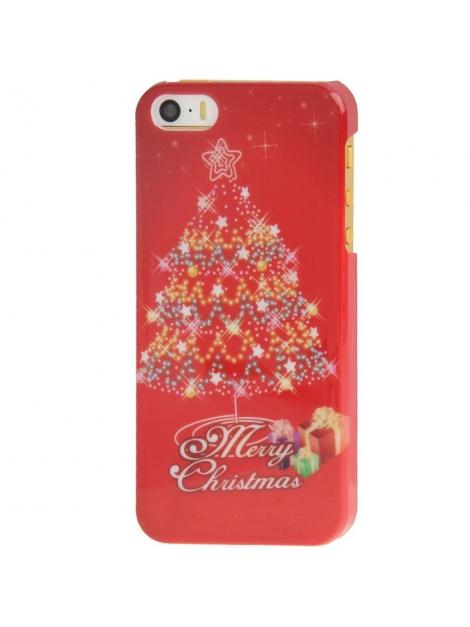 Štýlový ochranný kryt pre iPhone 5 & 5S - Christmas Tree