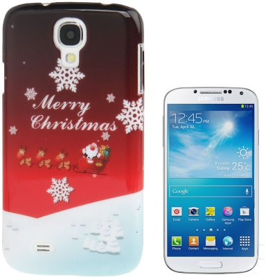 Štýlový ochranný kryt pre Samsung Galaxy S4/i9500 - Snowflakes