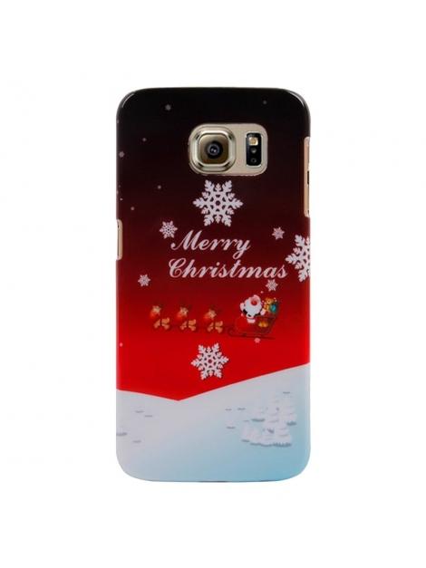 Štýlový ochranný kryt pre Samsung Galaxy S6/G920 - Snowflakes