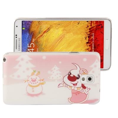 Štýlový ochranný kryt pre Samsung Galaxy Note III / N9000 - Christmas Cartoon