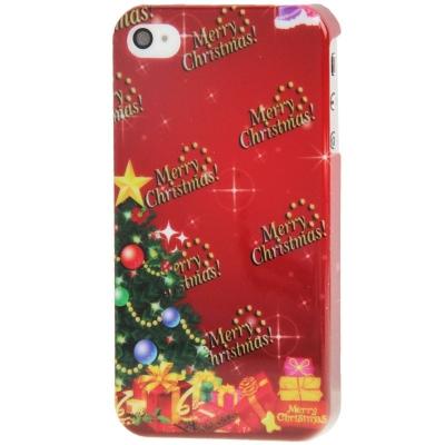 Štýlový ochranný kryt pre iPhone 4 & 4S - Merry Christmas