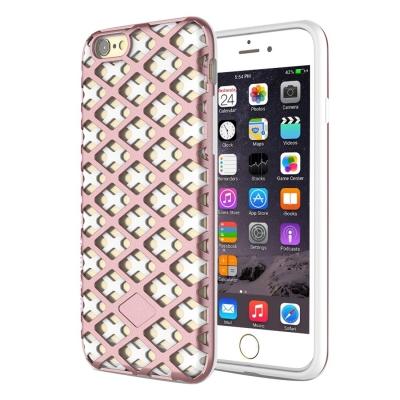 Moderný ochranný kryt pre iPhone 6 plus - Rose-White