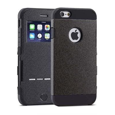 Extrémne odolné puzdro pre iPhone 6/6S- Čierny