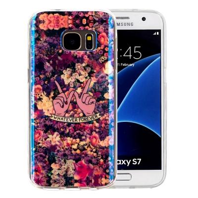 Štýlový ochranný kryt pre Samsung Galaxy S7 Flowers