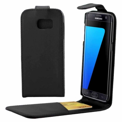 Flip kožené puzdro pre Samsung Galaxy S7 edge