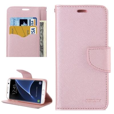 Diárové púzdro pre Samsung Galaxy S7 edge - rose gold