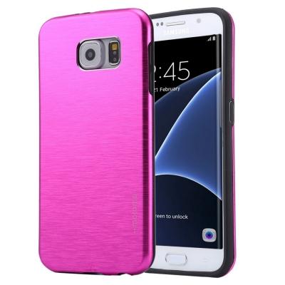 Motomo ochranný kryt pre Samsung Galaxy S7 edge - magenta
