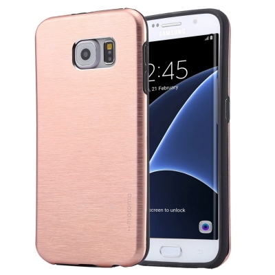 Motomo ochranný kryt pre Samsung Galaxy S7 edge - rose gold