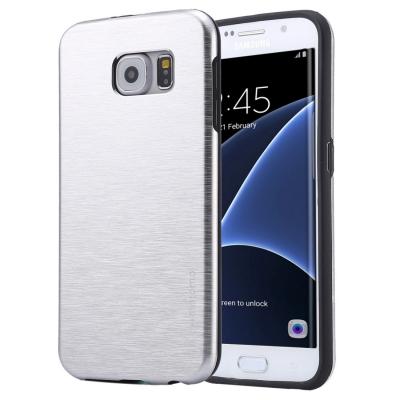 Motomo ochranný kryt pre Samsung Galaxy S7 edge - silver