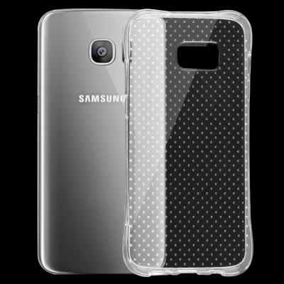 Ultratenké spevnené ochranné púzdro pre Samsung Galaxy S7 edge - priesvitné