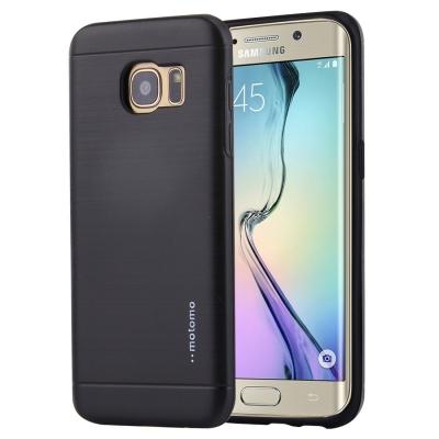 Motomo ochranný kryt pre Samsung Galaxy S6 edge - čierne