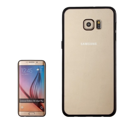 Ochranný kryt s rámom na Samsung Galaxy S6 edge plus - Black